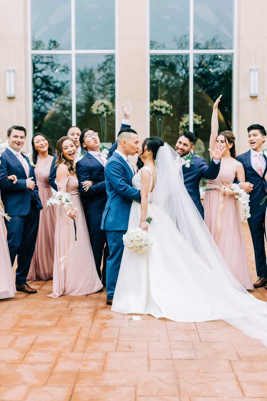 Blush Pink Texas Wedding at The Bowden featured on Alexa Kay Events