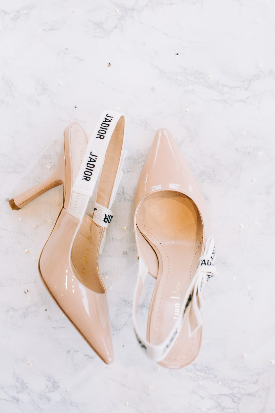 Nude wedding shoes: Blush Pink Texas Wedding at The Bowden featured on Alexa Kay Events