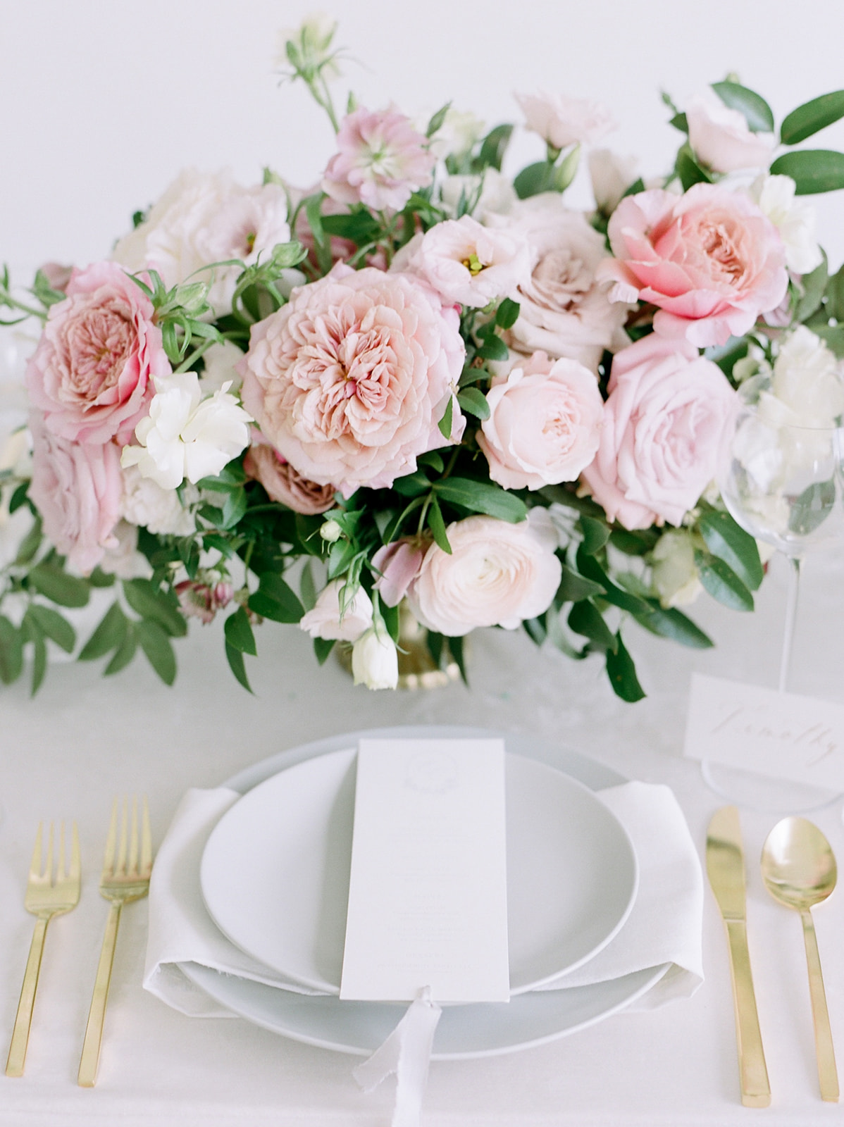 Pink wedding centerpieces: Pink Floral Wedding Inspiration at The Lumen Room featured on Alexa Kay Events