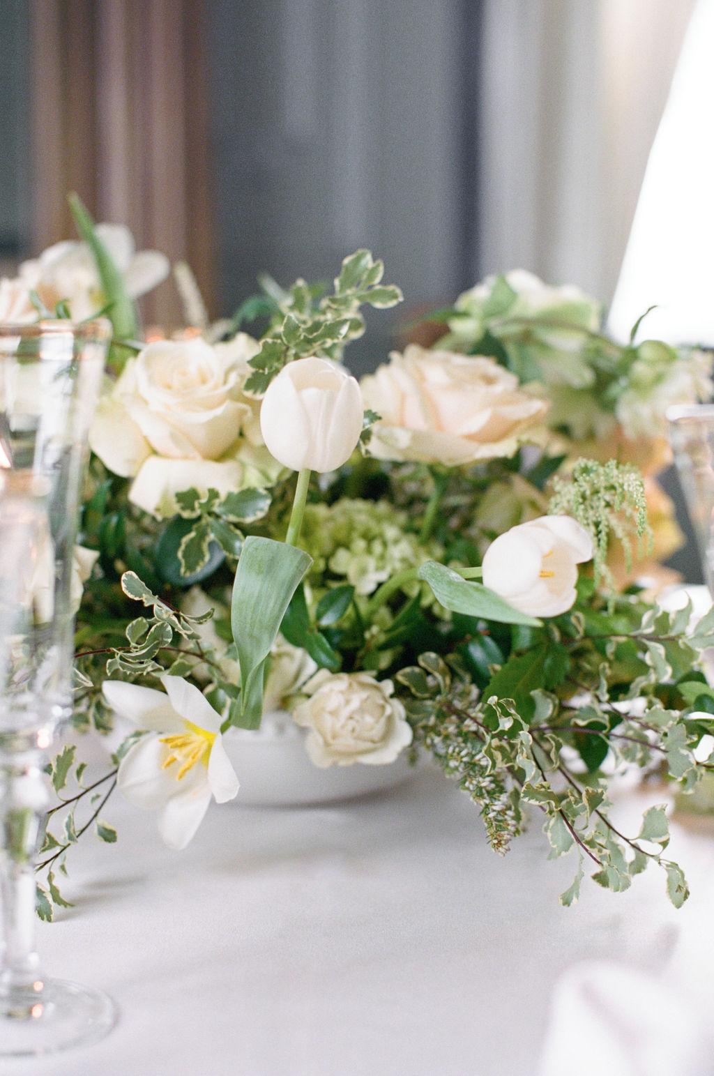 Upscale wedding centerpieces: Elegant Dallas Wedding Inspiration at The Mason featured on Alexa Kay Events