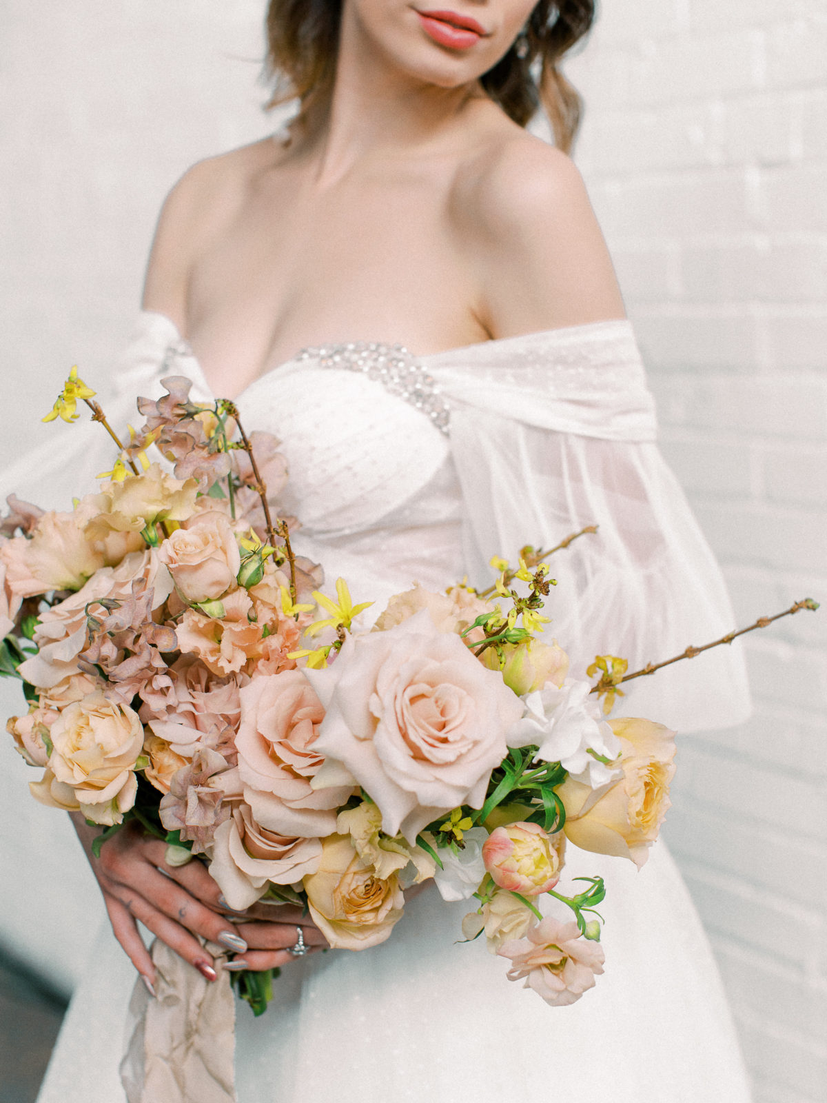 Whimsical Wedding Inspiration at The Place at Tyler from The Bridal Masterclass featured on Alexa Kay Events