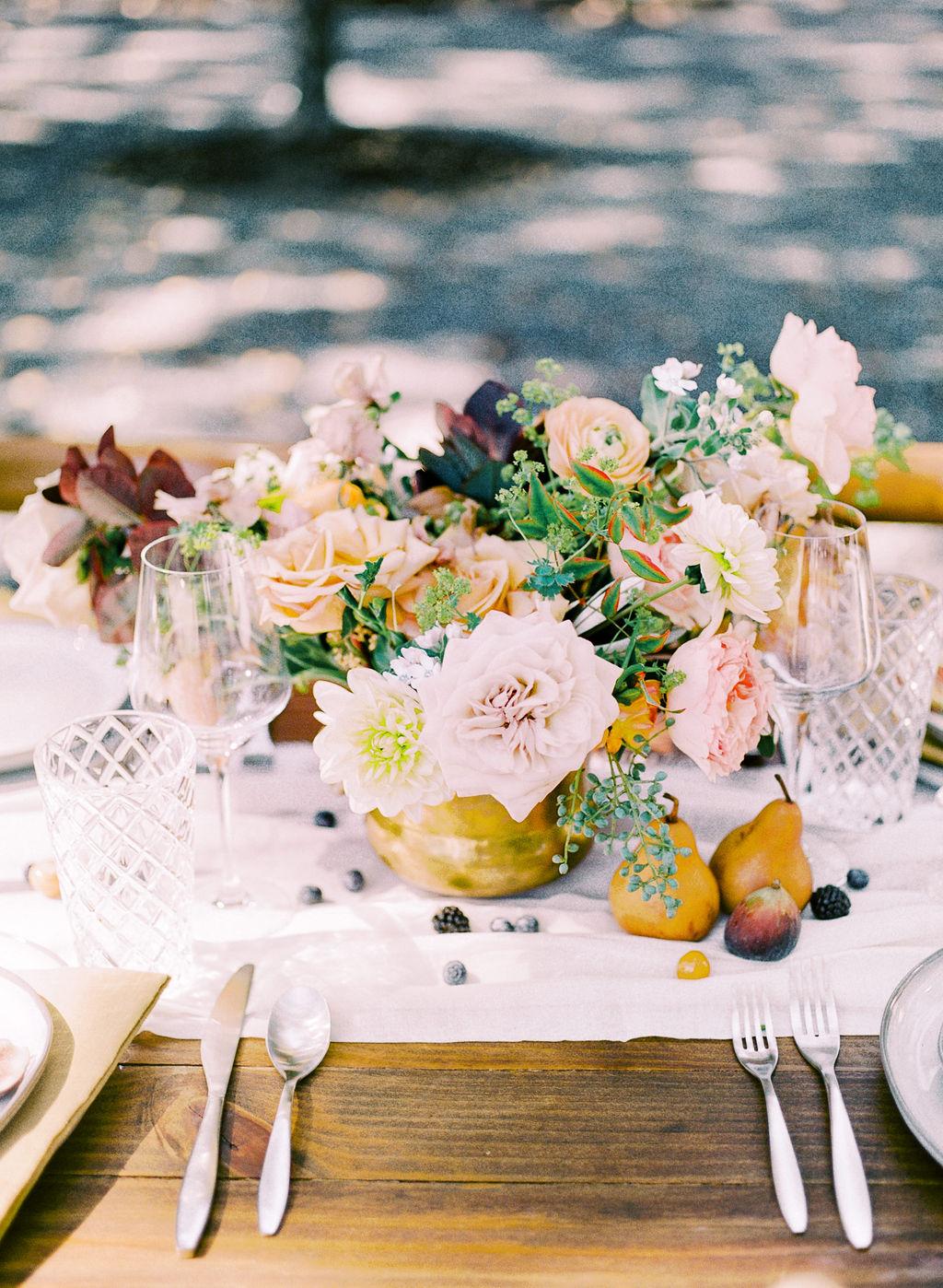 Alba Dahlia Floral Design: Ethereal Wedding Inspiration at The White Sparrow
