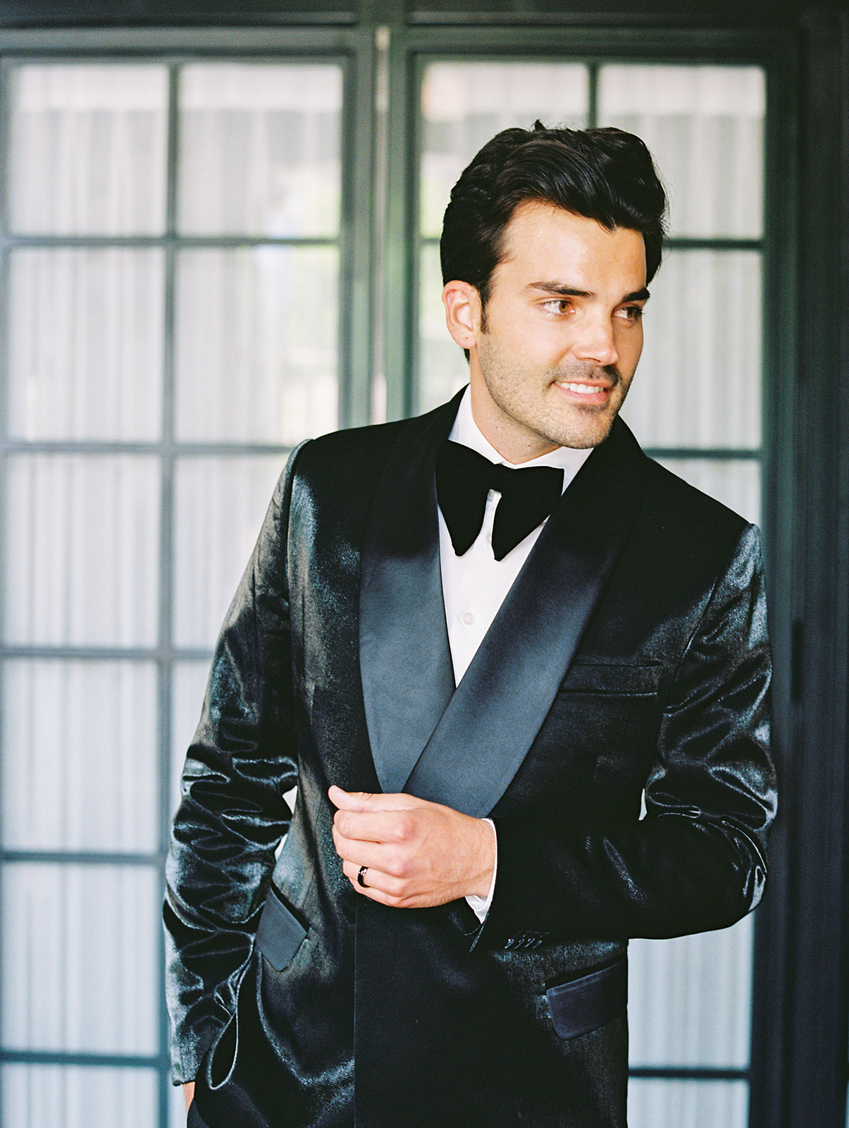 Don Morphy wedding tuxedo