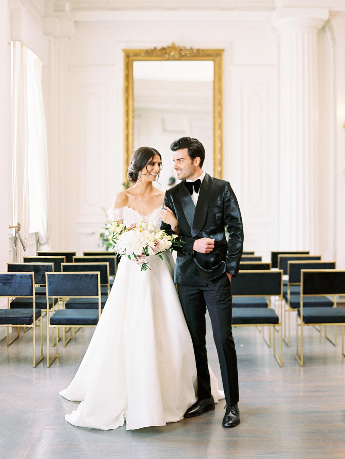Chic Wedding Inspiration at The Mason by Megan Kay Photography