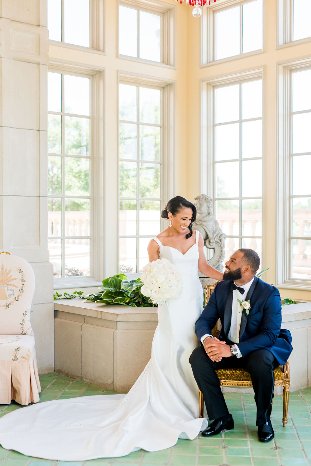 Romantic Pink and White Wedding at The Olana