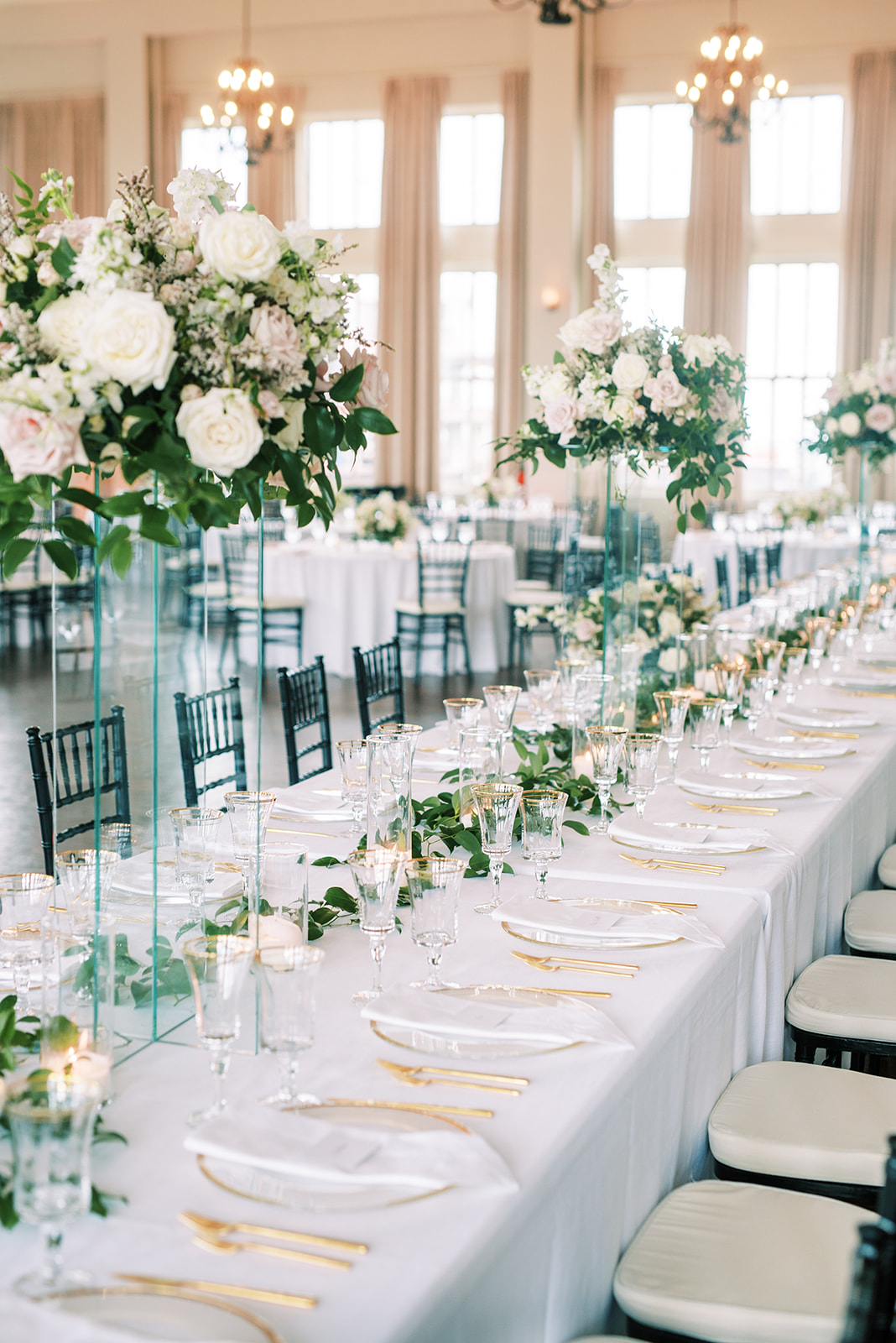 Room on Main wedding planned by Alexa Kay Events