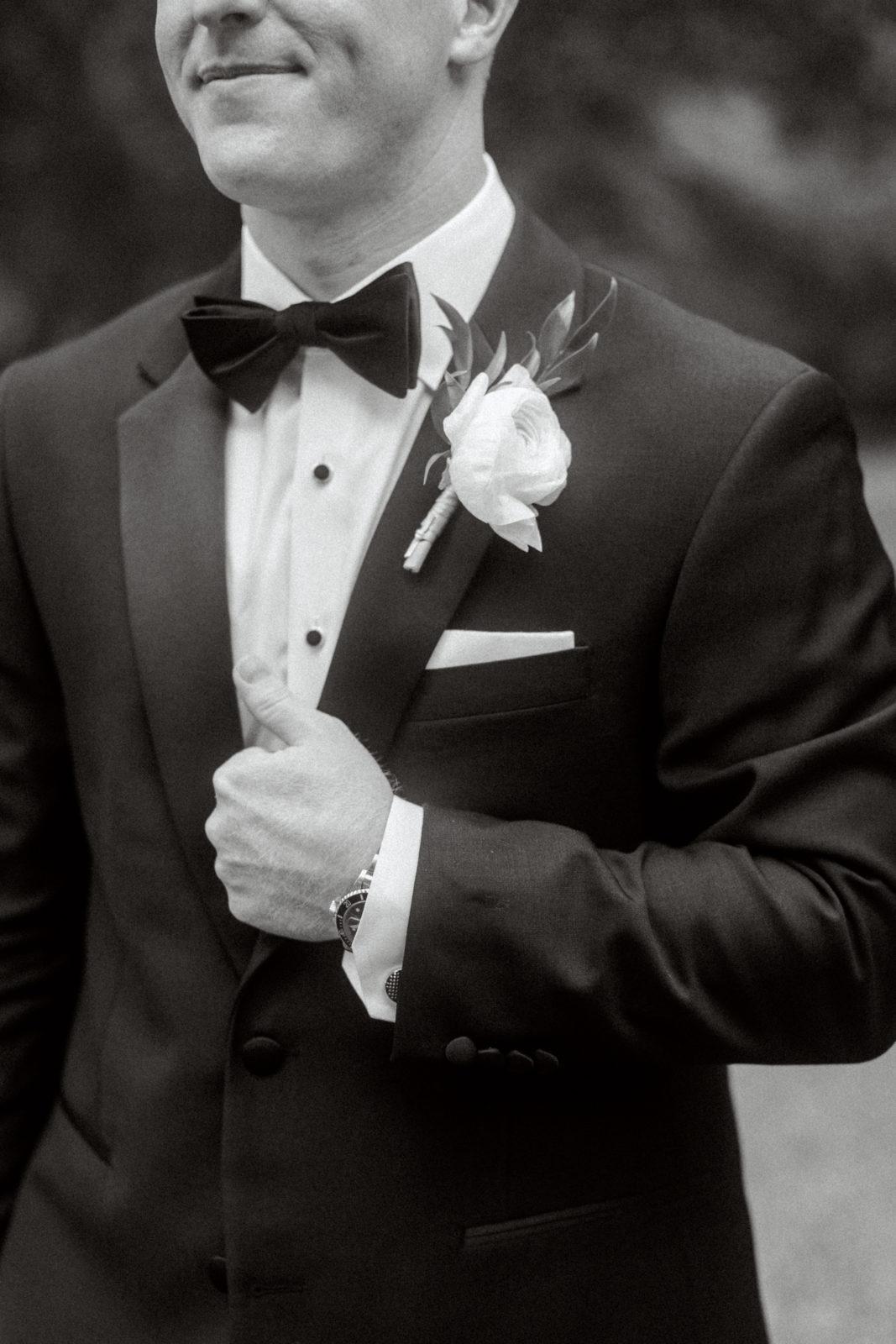 Classic groom's tuxedo