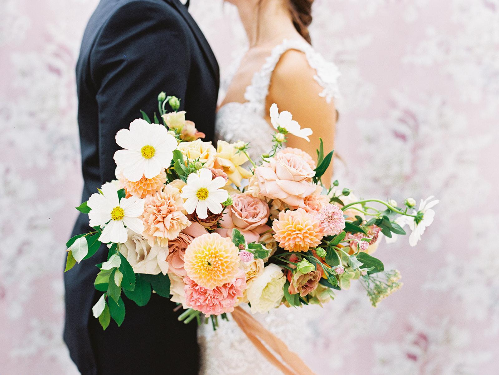 Organic wedding bouquet design   Alexa Kay Events