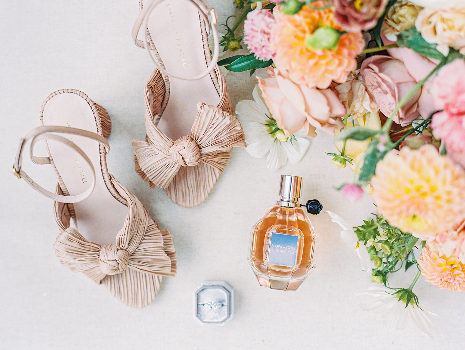 Loeffler Randall bridal shoes | Alexa Kay Events