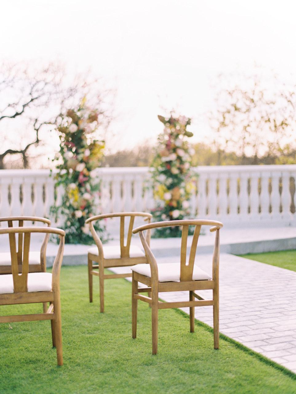Hillside Estate Venue wedding ceremony inspiration