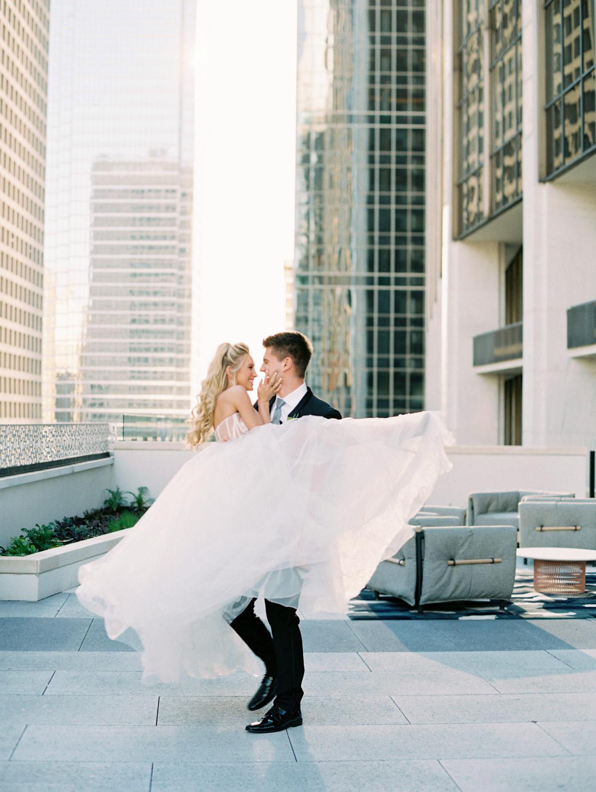 Intimate Wedding at Thompson Dallas