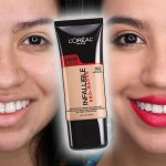 L Oreal Infallible Pro Matte Foundation Review Golden Beige Alexa Likes