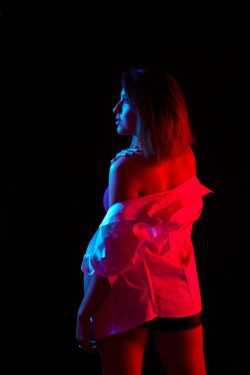 Color Lights Modelo: Lucero Gutiérrez Fotografía: Alex Alvarez © Alex Alvarez, 2016