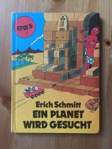 Erich Schmitt – Ein Planet wird gesucht - Cover