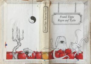 Regen auf Tyche - Schutzumschlag Buchcover - Autor und Illustrator: Frank Töppe