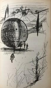 Mit den Raumkugeln reisen die Mejuaner zur Erde - Buchcover - Günther Krupkat - Illustration: Martin Kotsch