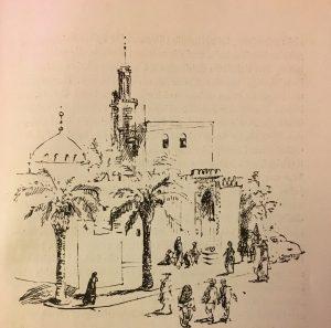 Stadtansicht - Marokkanisches Abenteuer - Otto Schöndube - Illustrationen: Ursula Mattheuer-Neustädt