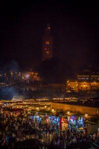 Djema el Fna, Marrakesch - Foto: Alexander Baumbach