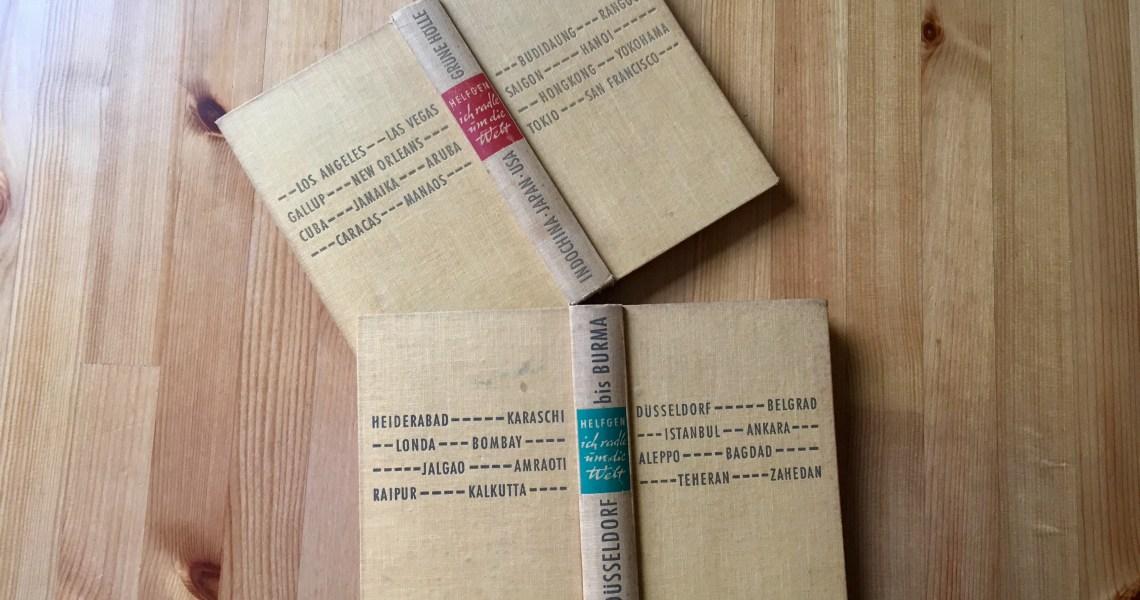 Ich radle um die Welt - Heinz Helfgen - Buchcover