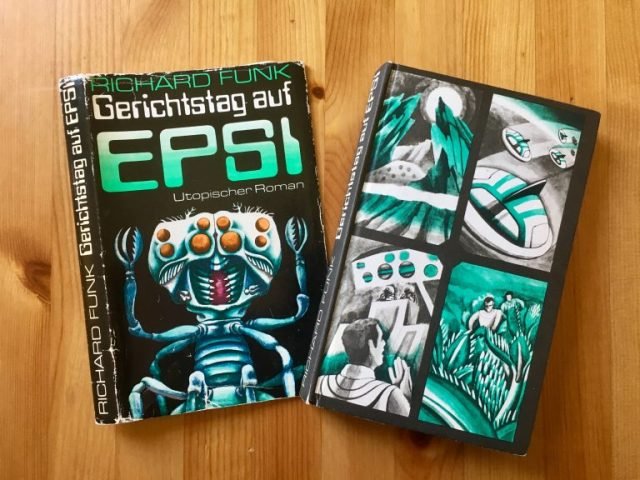 Gerichtstag auf Epsi - Richard Funk - Illustration: Thomas Schallnau - Buchcover und Schutzumschlag