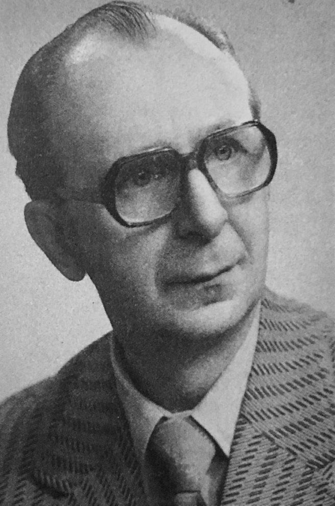 """Richard Funk , Foto: privat - aus """"Die Science-fiction der DDR - Autoren und Werke"""" von Simon und Spittel"""