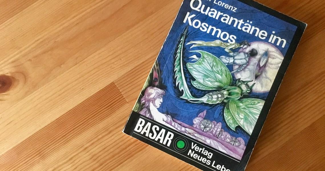 Quarantäne im Kosmos - Peter Lorenz - Buchcover - Illustration: Werner Ruhner