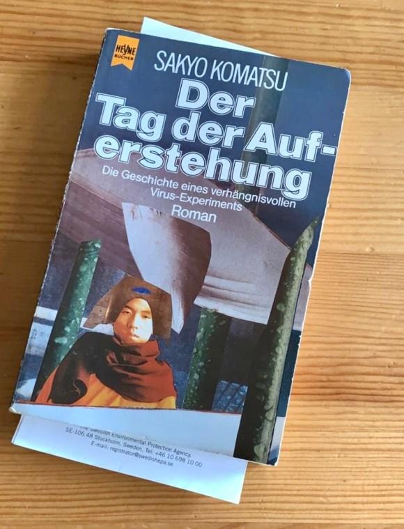 Der Tag der Auferstehung - Sakyo Komatsu - Buchcover