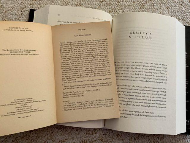 """""""Rocannons Welt"""" und seine Vor-Geschichte """"Semley's Necklace"""""""