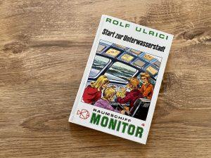Start zur Unterwasserstadt - Rolf Ulrici - Buchcover
