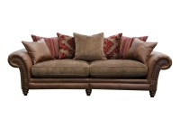 4 Seater Sofas Leather Fabric | Brokeasshome.com