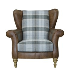 Leather Wing Chairs Uk Tommy Bahama Beach Chair Bjs Lawrence - Alexander And James