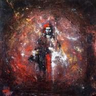 «Padmasambhava», acrylic on canvas, 80 x 80 cm, 北京 2016
