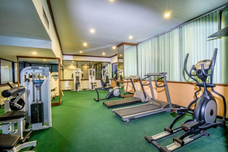 Fitness & Sauna Room