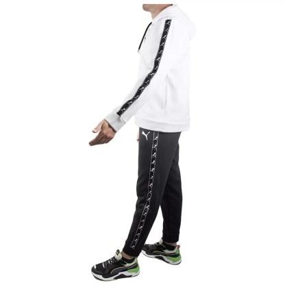 puma_tuta_completa_da_uomo_felpa_con_cappuccio_zip_pantalone_nero_bianco_cotone_felpato_invernale_alexanderjohn.it_alexander_john_shoes