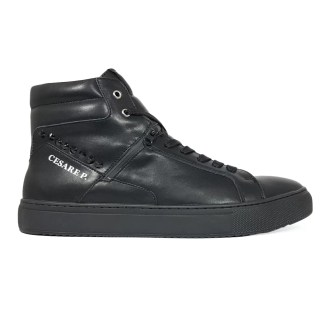 cesare_p_by_paciotti_james_shoes_mid_stivaletto_alto_sneakers_lacci_pelle_nero_saldi_low_price_alexander_john_shoes_napoli_vendita_on_line_ingrosso
