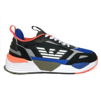 emporio_armani_mesh_scarpe_uomo_nero_blu_fluo_arancio_alexander_john_shoes_alexanderjohn.it