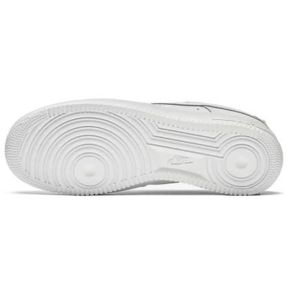 scarpe da uomo nike air force 1 '07 bianco white pelle 315122 111