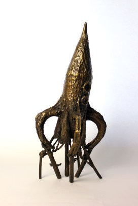 Fly Me to the Moon, Bronze, UAL Collection London