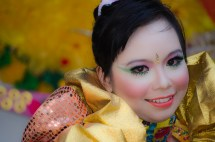 Jember East Java Indonesia Fashion Carnival Ameri