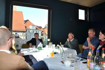 Gespräch mit Dieter Lauinger