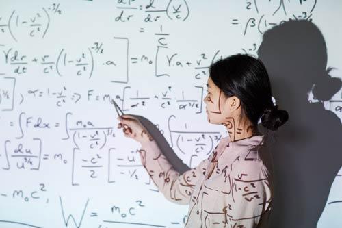 Math-student-presentation