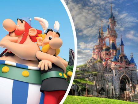 Parc Astérix / Disneyland Paris