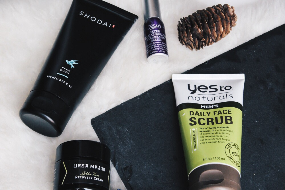 close up of grooming essentials