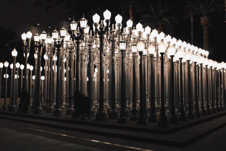 lacma lights in LA