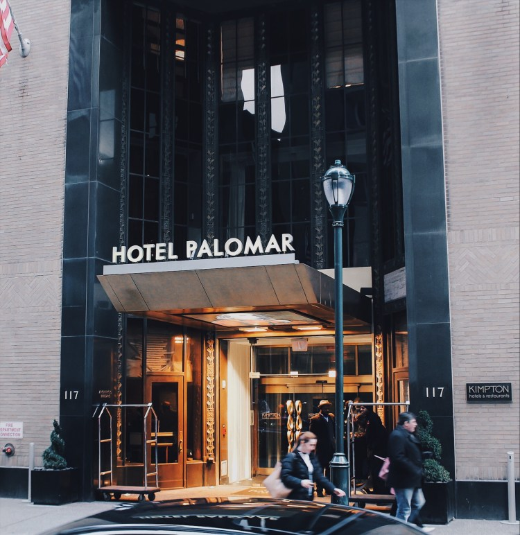 STAYCATION: HOTEL PALOMAR