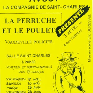 Compagnie st-charles - affiche