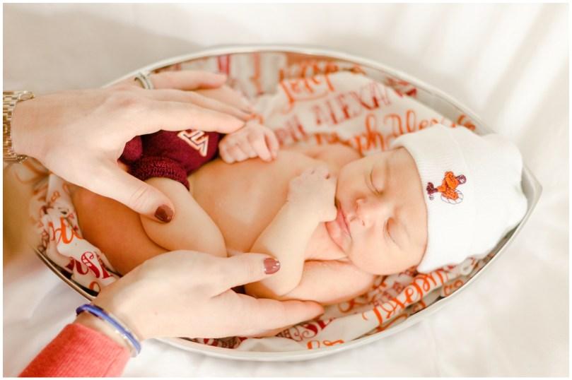 Alexandra Michelle Photography - Richmond Newborn - Brown-41