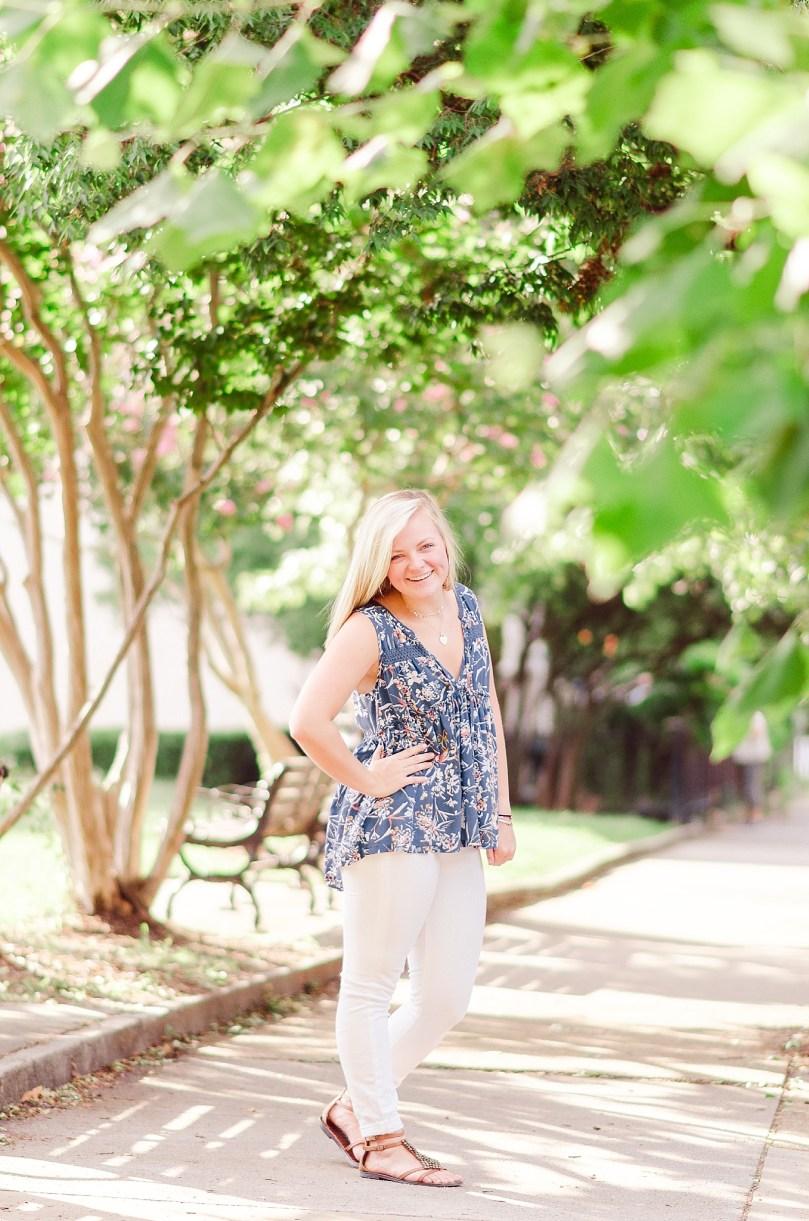 Alexandra Michelle Photography - Richmond Virginia - Church Hill - August 2018 - Senior Portraits - Malone McGhee-16