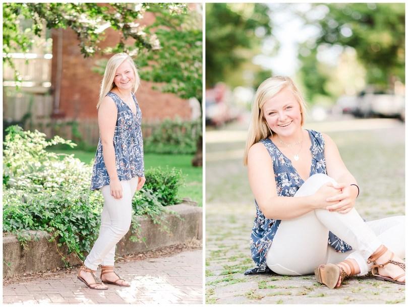 Alexandra Michelle Photography - Richmond Virginia - Church Hill - August 2018 - Senior Portraits - Malone McGhee-25