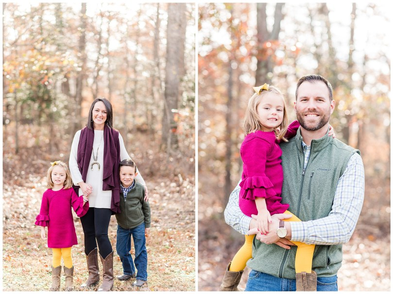 Alexandra Michelle Photography - Christmas Minis - 2018 - Family Portraits - Crump Park - Collier-1